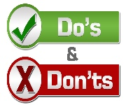 2018_0527 Do's & Dont's list revised draft 3.pdf